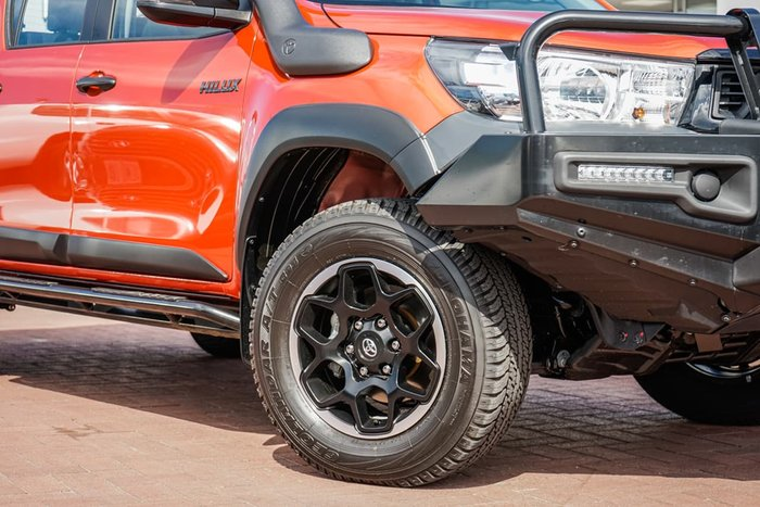 2019 Toyota Hilux Rugged GUN126R 4X4 Dual Range Orange