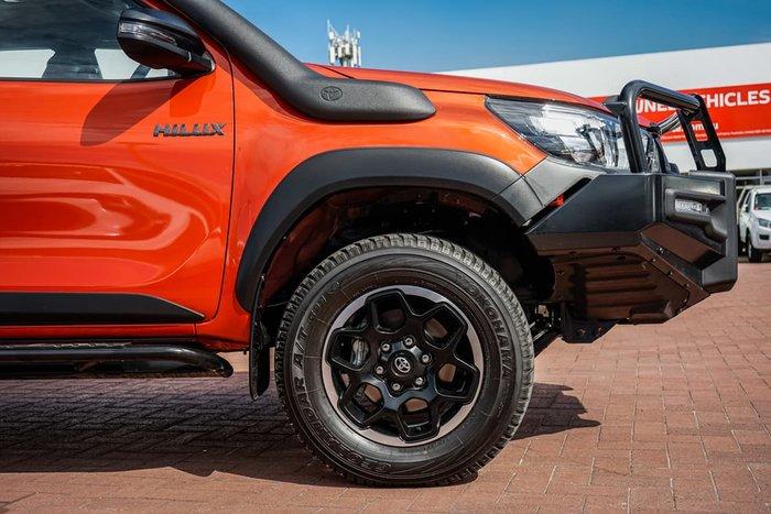 2019 Toyota Hilux Rugged GUN126R 4X4 Dual Range Orange