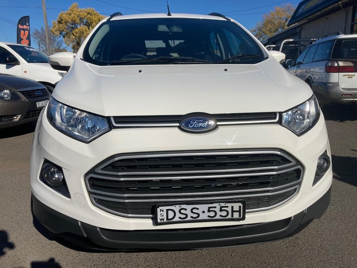 2017 Ford EcoSport Trend BK White