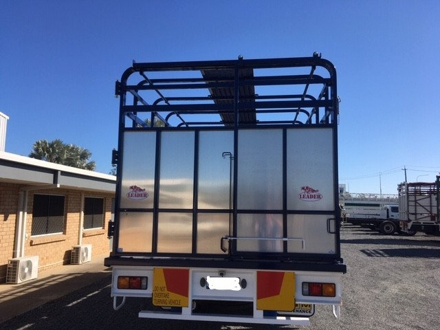 2020 Fuso Fighter 1627 8T Cattle Tray amp Crate White