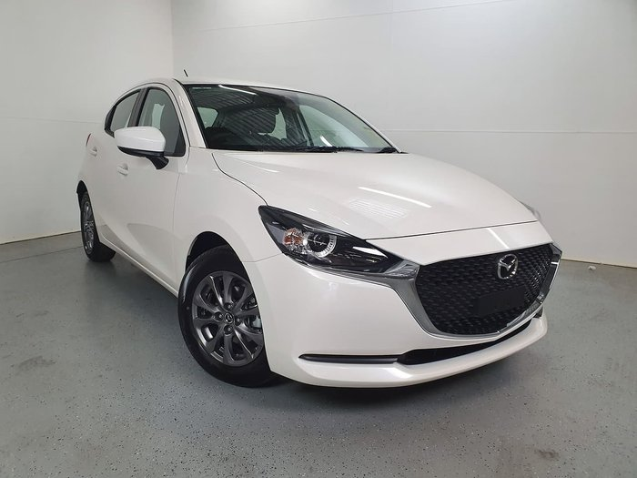 2020 Mazda 2 G15 Pure DJ Series White