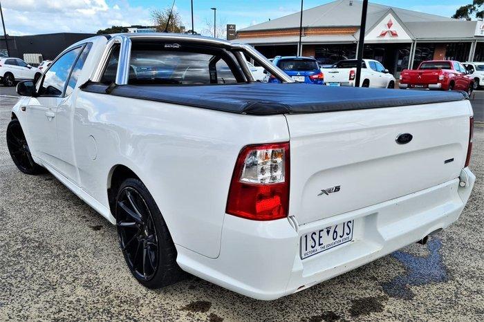 2014 Ford Falcon Ute XR6 FG X White