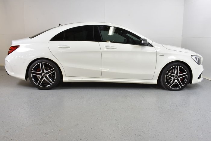 2017 Mercedes-Benz CLA-Class CLA250 Sport C117 Four Wheel Drive White