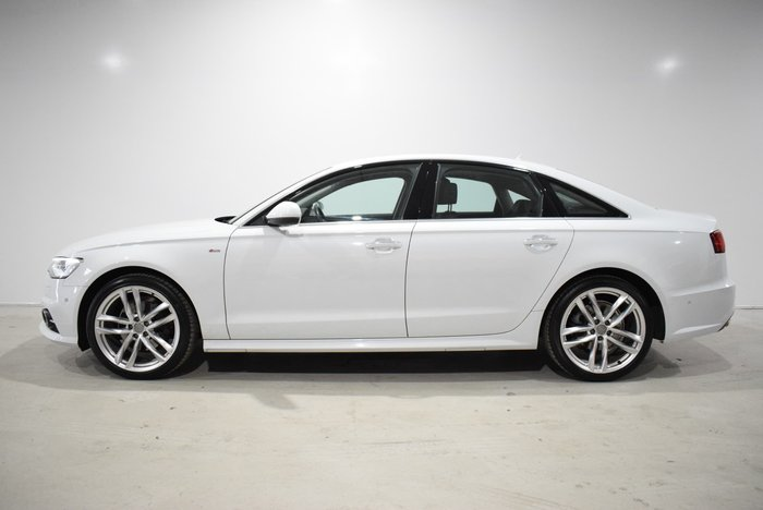 2015 Audi A6 S Line C7 MY16 White