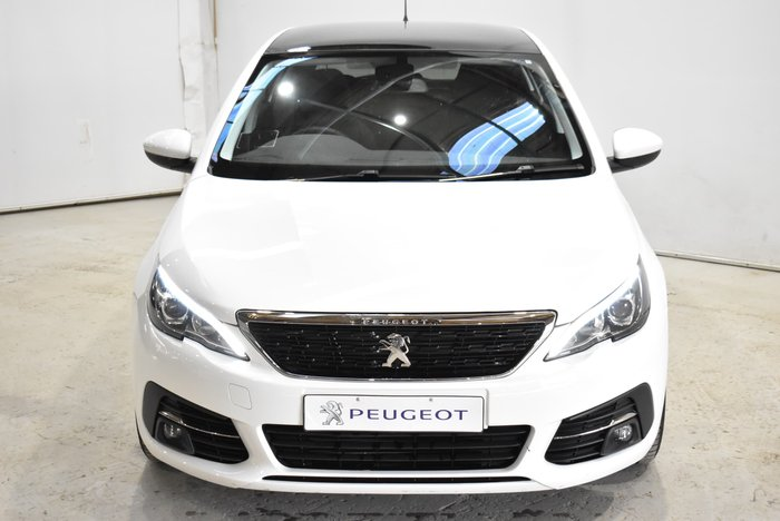 2018 Peugeot 308 Active T9 MY18 White