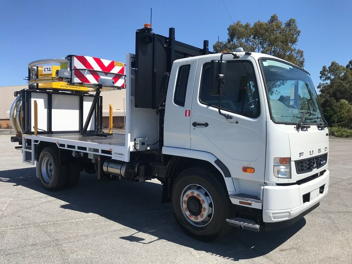 2021 FUSO FIGHTER 1627 FM65FH2RFAM White