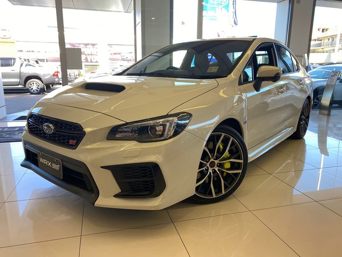 2020 Subaru WRX STI Premium V1 MY20 Four Wheel Drive Crystal White