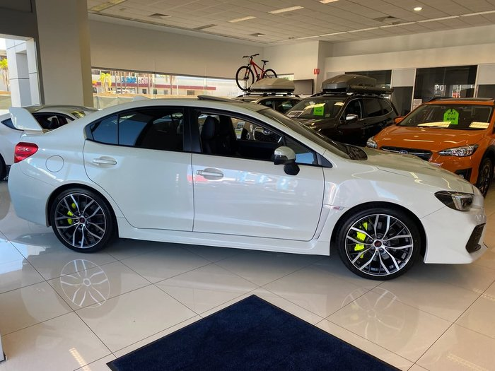 2020 Subaru WRX STI Premium V1 MY20 Four Wheel Drive Crystal White