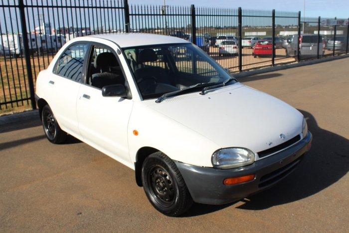 1996 Mazda 121 DB Series 3 White