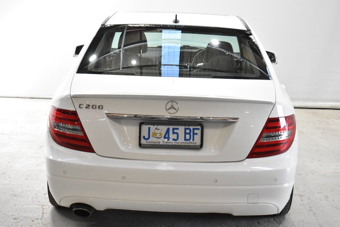 2014 Mercedes-Benz C-Class C200 W204 White