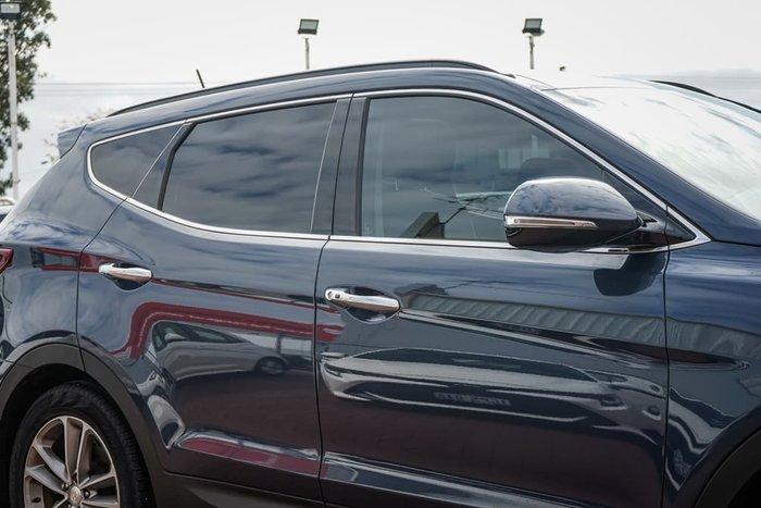 2017 Hyundai Santa Fe Highlander DM3 Series II MY17 4X4 On Demand Blue