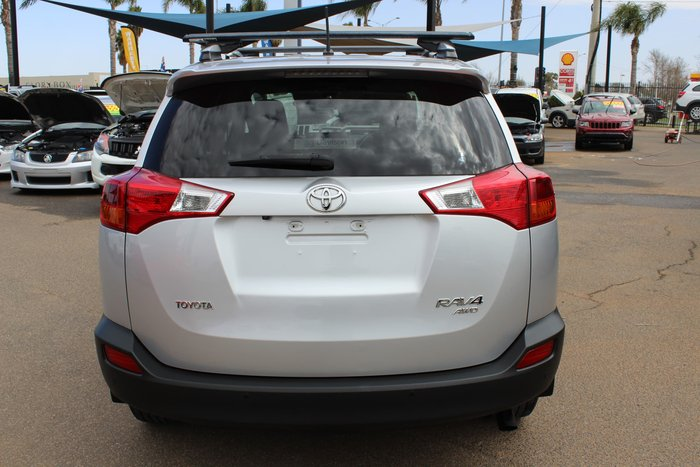 2013 Toyota RAV4 GXL ALA49R 4X4 On Demand Silver