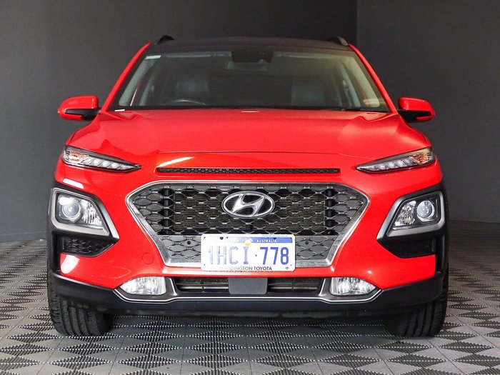 2017 Hyundai Kona Elite OS MY18 Orange