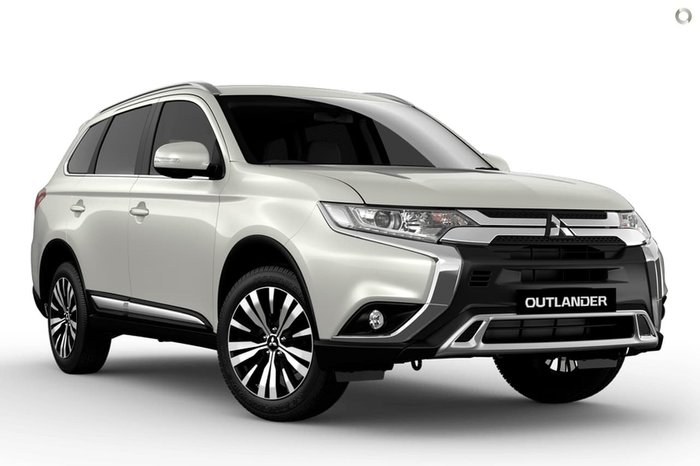 2020 Mitsubishi Outlander LS ZL MY20 4X4 On Demand White