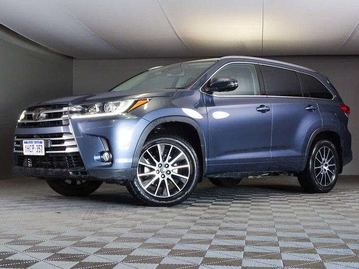 2018 Toyota Kluger Grande GSU50R Blue