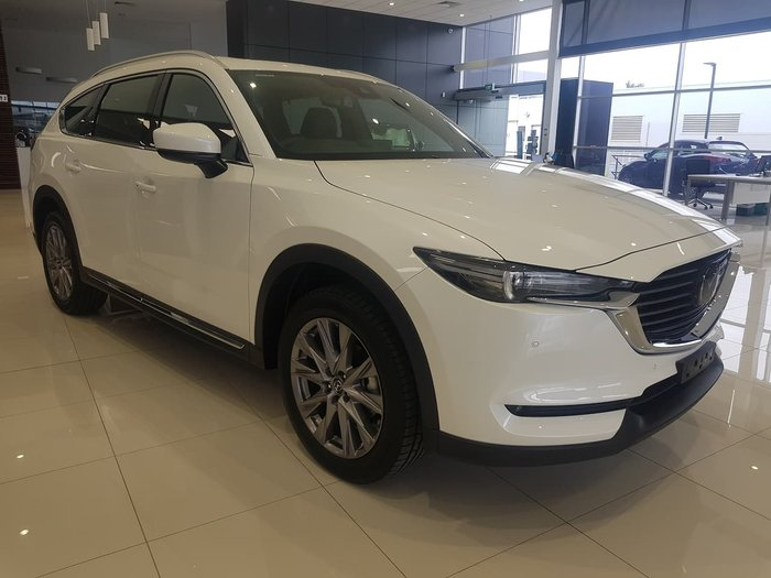 2020 Mazda CX-8 GT KG Series 4X4 On Demand White