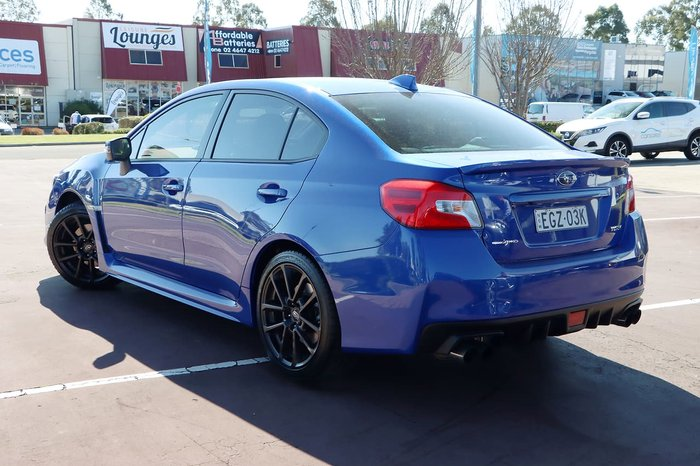 2020 Subaru WRX Premium V1 MY20 Four Wheel Drive Blue