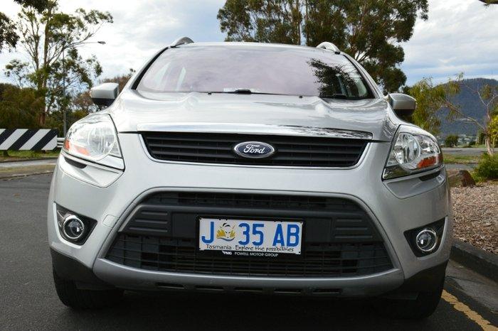 2012 Ford Kuga Trend TE Four Wheel Drive SILVER