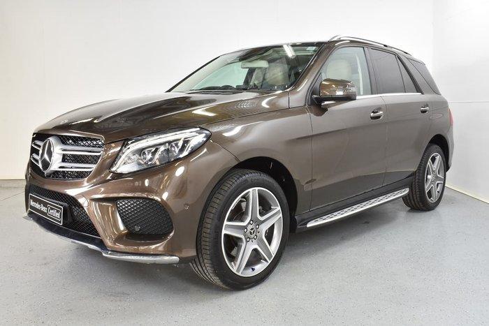 2017 Mercedes-Benz GLE-Class GLE250 d W166 Four Wheel Drive Brown