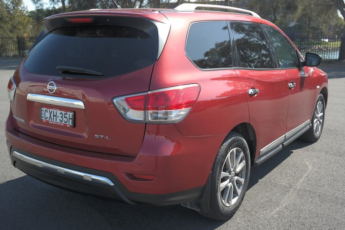 2014 Nissan Pathfinder ST-L R52 MY15 Red