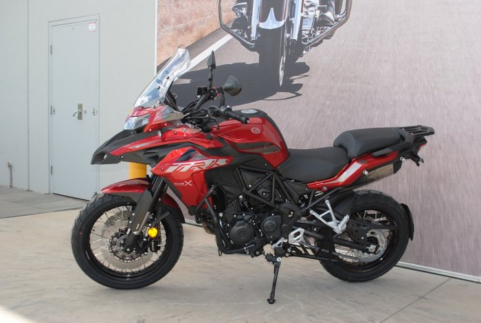 2019 Benelli TRK 502X (ABS) Red