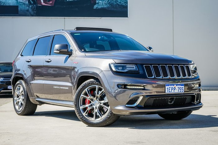 2014 Jeep Grand Cherokee SRT WK MY15 4X4 On Demand Grey