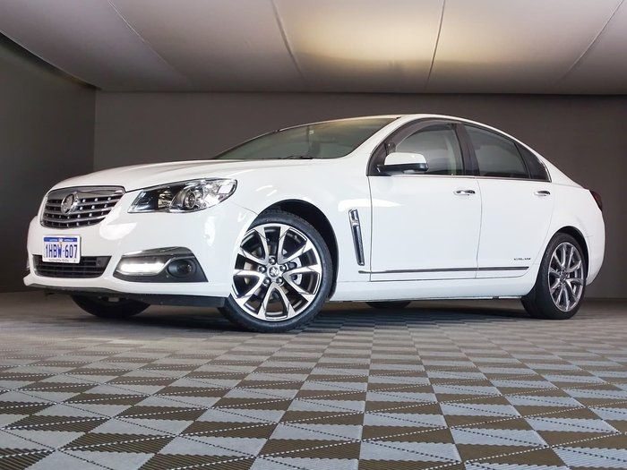 2016 Holden Calais V VF Series II MY16 White