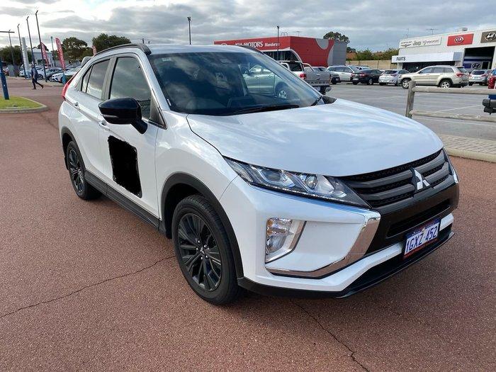 2019 Mitsubishi Eclipse Cross Black Edition YA MY19 White