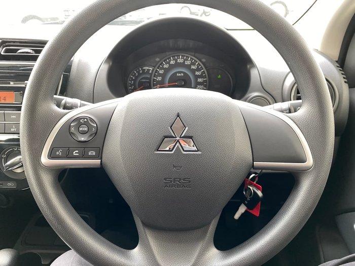 2019 Mitsubishi Mirage ES LA MY20 Red