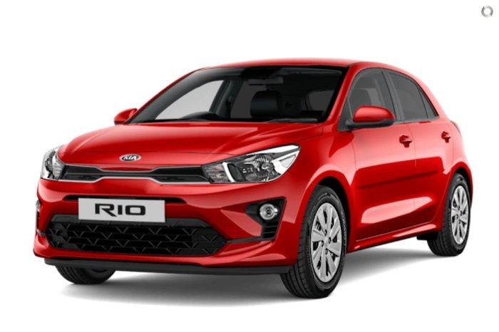 2020 Kia Rio S YB MY21 Red