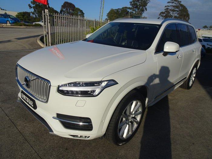 2016 Volvo XC90 D5 Inscription MY17 4X4 On Demand White