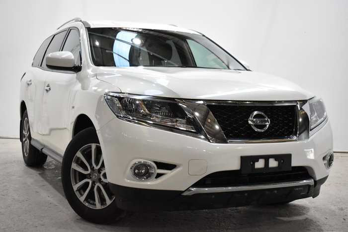 2016 Nissan Pathfinder ST-L NO OPTION PACK R52 MY16 Ivory Pearl