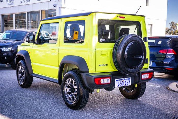 2019 Suzuki Jimny GJ 4X4 Dual Range Yellow