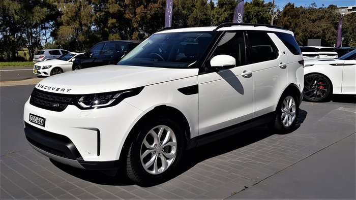 2019 Land Rover Discovery SD6 SE Series 5 MY19 4X4 Dual Range White