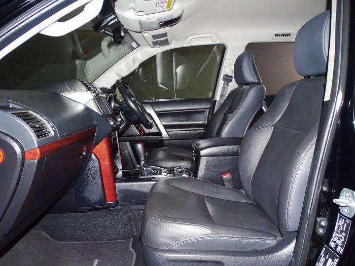 2016 Toyota Landcruiser Prado VX GRJ150R 4X4 Dual Range Black