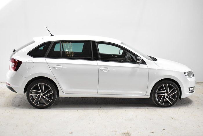 2019 SKODA Rapid NH MY19 White