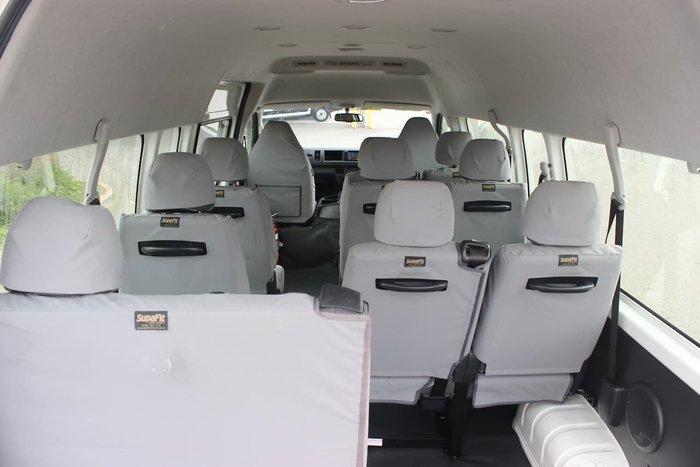 2018 TOYOTA 12/14 SEAT HIACE 4X4 AUTO null null WHITE