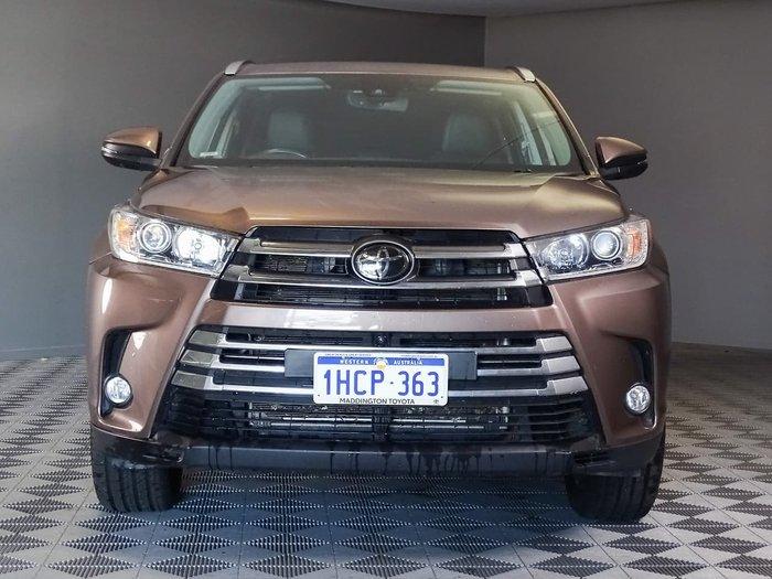 2018 Toyota Kluger Grande GSU50R Brown