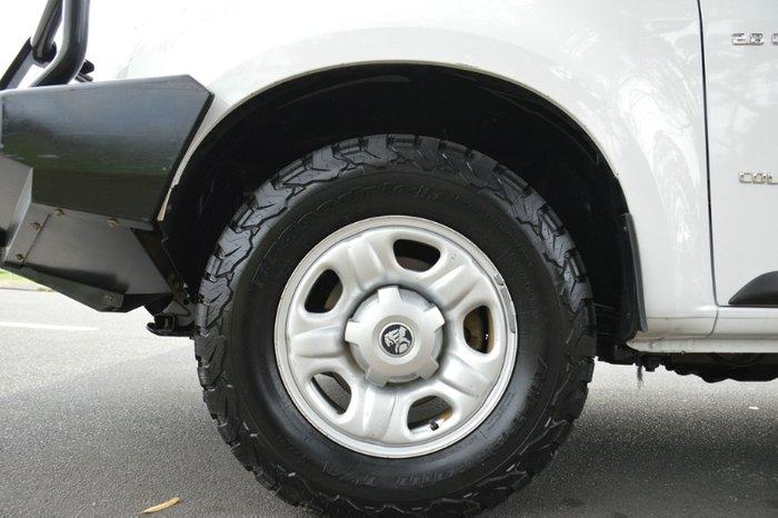 2014 Holden Colorado LX RG MY14 4X4 Dual Range white