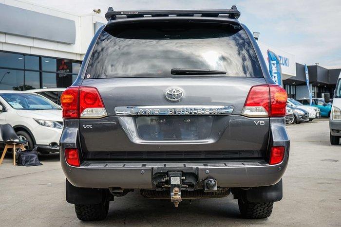 2014 Toyota Landcruiser VX VDJ200R MY13 4X4 Dual Range Grey