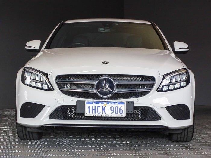 2019 Mercedes-Benz C-Class C200 W205 White