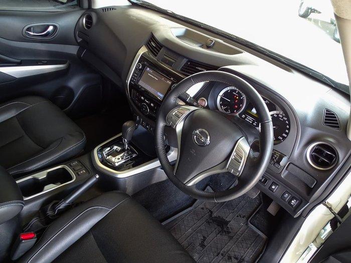 2017 Nissan Navara ST-X D23 Series 2 4X4 Dual Range White