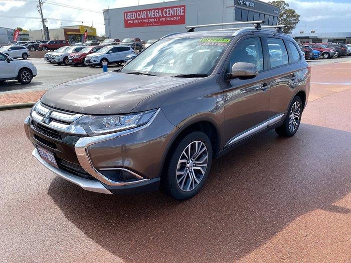 2018 Mitsubishi Outlander ES ZL MY18.5 Bronze