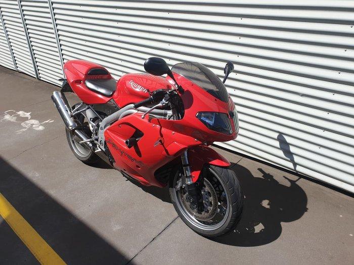 2004 Triumph Daytona 955i Daytona Red