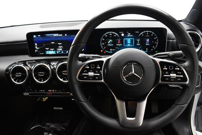 2019 Mercedes-Benz A-Class A200 W177 White