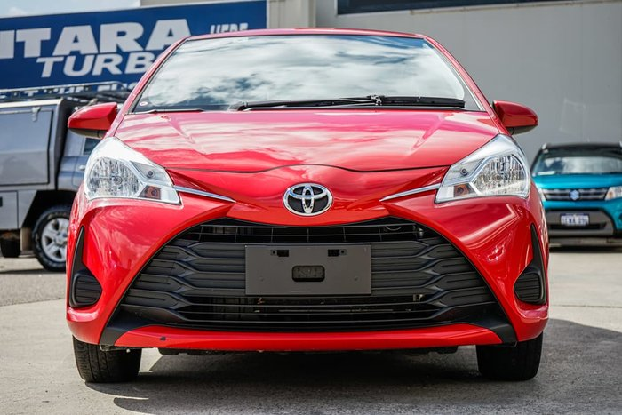 2019 Toyota Yaris Ascent NCP130R Red
