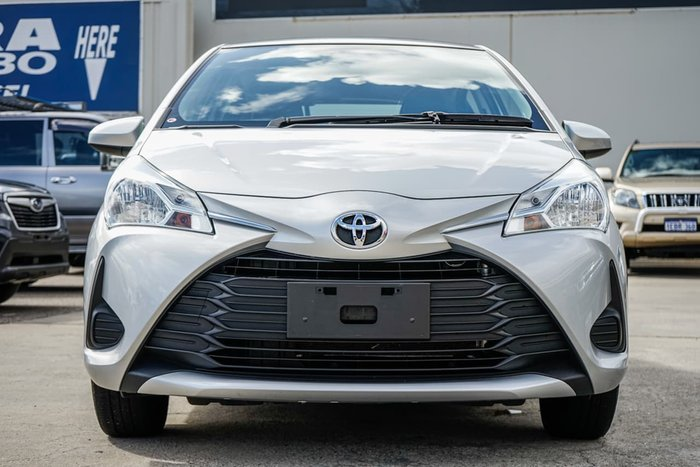 2019 Toyota Yaris Ascent NCP130R Silver