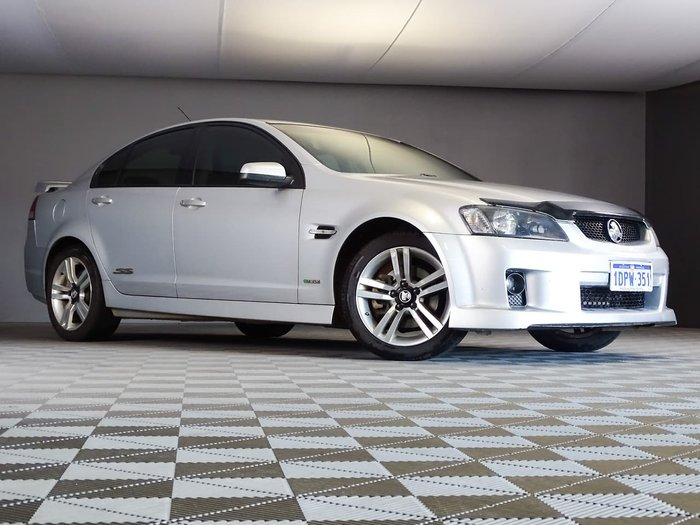 2010 Holden Commodore SS VE MY10 Silver