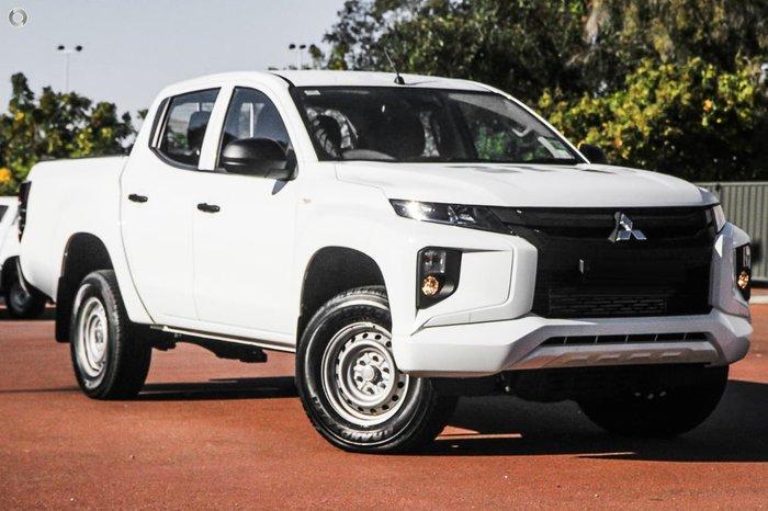 2020 Mitsubishi Triton GLX ADAS MR MY20 White