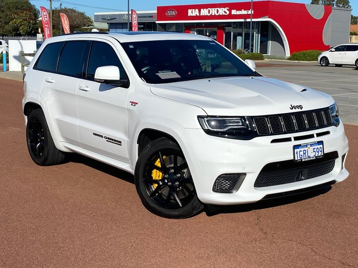 2018 Jeep Grand Cherokee Trackhawk WK MY18 4X4 On Demand White